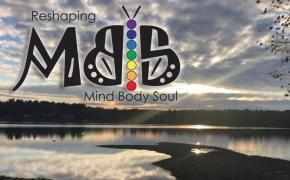 Reshaping mind body soul logo