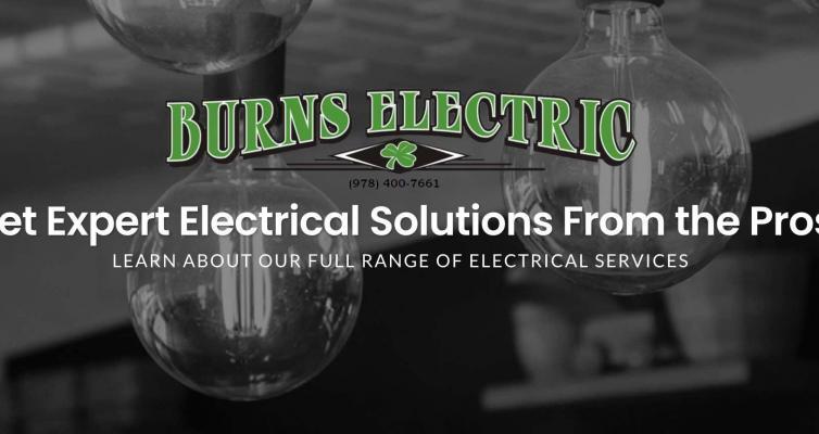 Burns Website image